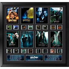 Harry Potter (All Movies) Montage Framed FilmCells w. 16 Clips of F...