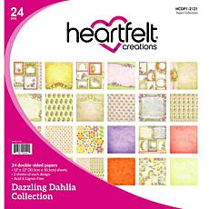 Heartfelt Creations Dazzling Dahlia Paper Collection