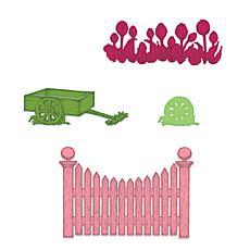 Heartfelt Creations Tulip Cart & Fence Die Set