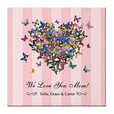 Hearts a Flutter Canvas - 11x11
