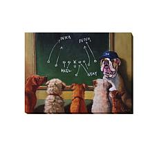 "Heffernan  ""Game Plan"" Giclee Wall Art - Small"