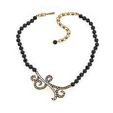 """Heidi Daus """"Abstract Accent"""" Beaded Drop Necklace"""