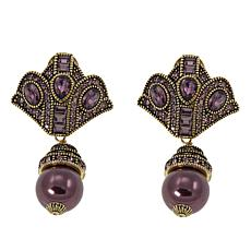 "Heidi Daus ""Age of Elegance"" Beaded Drop Earrings"