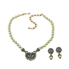 """Heidi Daus """"Beauty to Go"""" Necklace and Drop Earrings"""