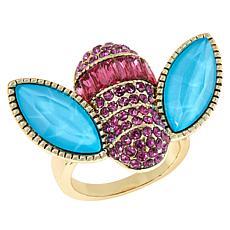 "Heidi Daus ""Bee-uteous"" Crystal Ring"