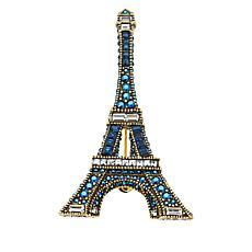 "Heidi Daus ""Belle Tour Eiffel"" Crystal Pin"