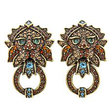 "Heidi Daus ""Bling of the Jungle"" Pavé Crystal Earrings"