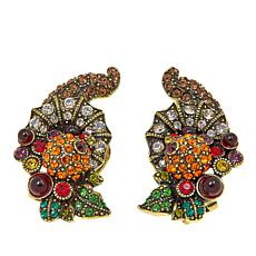 "Heidi Daus ""Bountiful Beauty"" Crystal Earrings"