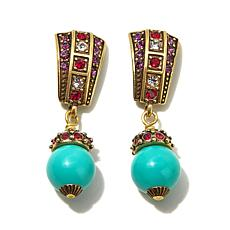 "Heidi Daus ""Casbah Chic"" Crystal-Accented Drop Earrings"