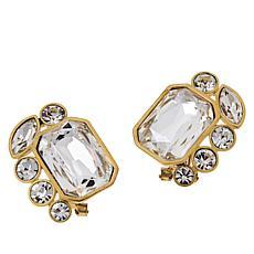 "Heidi Daus ""Classic Cascade"" Stud Earrings"