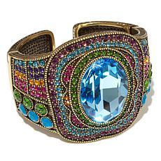 "Heidi Daus ""Crystal Magnetism"" Crystal Cuff Bracelet"