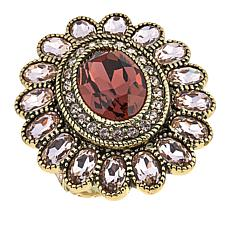 "Heidi Daus ""Dazzling Delight"" Crystal Ring"