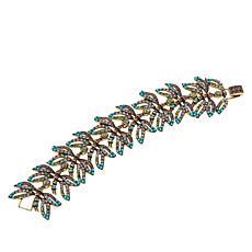 "Heidi Daus ""Dragonfly Artistry"" Crystal Station Bracelet"