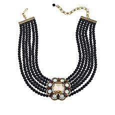 "Heidi Daus ""Elegant Know-How"" Multi-Strand Drop Necklace"