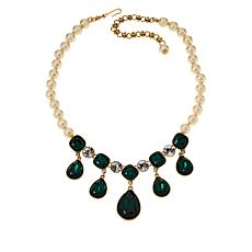 "Heidi Daus ""Emmy Worthy"" Beaded Dangle Necklace"
