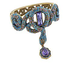 "Heidi Daus ""Enchanting Icon"" Crystal Bangle Bracelet"