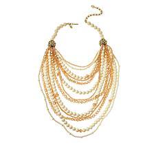 "Heidi Daus ""Essential"" 18-1/2"" Multi-Row Beaded Necklace"