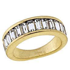 "Heidi Daus ""Full of Possibilities"" Crystal Band Ring"