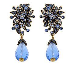 """Heidi Daus """"Garden Variety"""" Crystal Drop Earrings"""