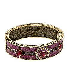 "Heidi Daus ""Globally Glamorous"" Bangle Bracelet"