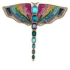 "Heidi Daus ""Goddess of Creativity"" Dragonfly Pin"