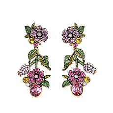 "Heidi Daus ""Harmony of Hues"" Crystal Drop Earrings"