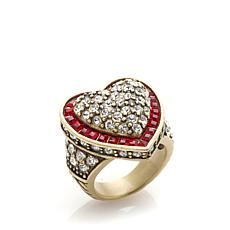 "Heidi Daus ""Heidi's Heartbreaker"" Heart-Shaped Ring"