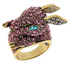 "Heidi Daus ""Honey Bunny"" Pavé Crystal Ring"