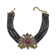 "Heidi Daus ""House of Daus"" 6-Strand Drop Necklace"