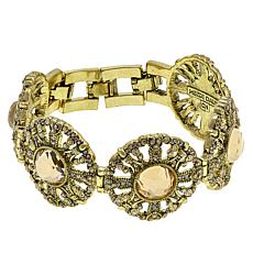 "Heidi Daus ""How Suite It Is"" Crystal Line Bracelet"