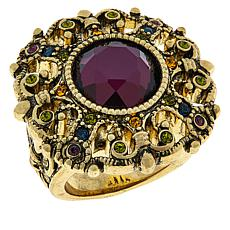 "Heidi Daus ""How Suite It Is"" Crystal Ring"