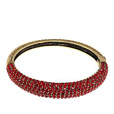 "Heidi Daus ""Hugs From Heidi"" Crystal-Accented Bangle Bracelet"