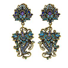 "Heidi Daus ""Ideal Beauty"" Crystal Drop Earrings"