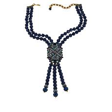 "Heidi Daus ""In Good Fortune"" Beaded Drop Necklace"
