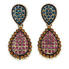 "Heidi Daus ""Infinite Sparkle"" Crystal Drop Earrings"
