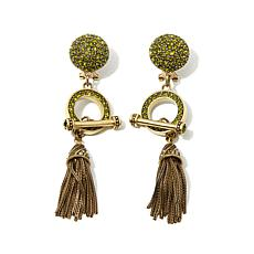 "Heidi Daus ""Jewelry Confidential"" Drop Earrings"
