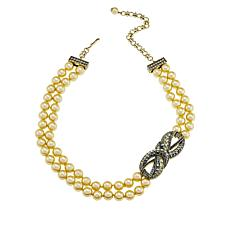 "Heidi Daus ""Knot Now"" Multi-Strand Station Necklace"