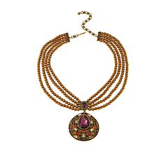 "Heidi Daus ""Magnificent Mosaic"" Crystal Drop Necklace"