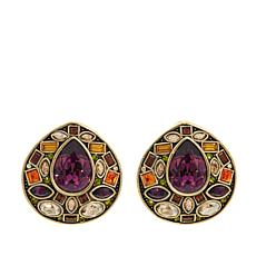 "Heidi Daus ""Magnificent Mosaic"" Crystal Earrings"