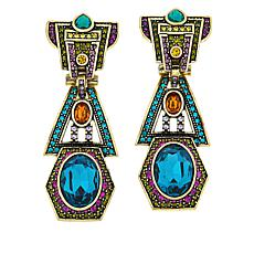"Heidi Daus Mary Poppins Returns ""Unexpected Execution"" Earrings"
