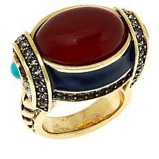 "Heidi Daus ""Modern Masterpiece"" Oval Stone Ring"