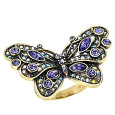 "Heidi Daus ""Mosaic Monarch"" Crystal Ring"