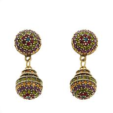 "Heidi Daus ""Museum Masterpiece"" Crystal Drop Earrings"