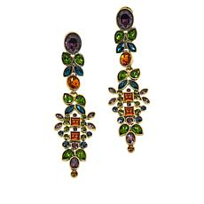 "Heidi Daus ""Opposites Attract"" Crystal Drop Earrings"
