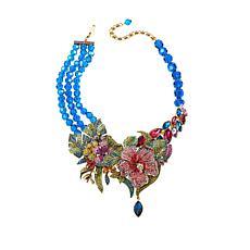 "Heidi Daus ""Paradise Found"" Crystal 3-Row Beaded Necklace"