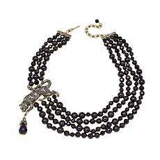 "Heidi Daus ""Purrfection"" Multi-Strand Beaded Necklace"