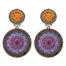 "Heidi Daus ""Ravishing Rapture"" Crystal Drop Earrings"