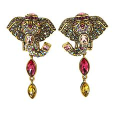 "Heidi Daus ""Ravishing Wrap-Sure"" Crystal Drop Earrings"
