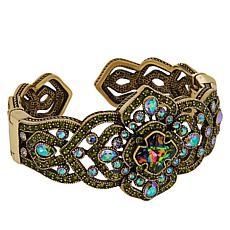 "Heidi Daus ""Regal Renaissance"" Crystal Cuff Bracelet"
