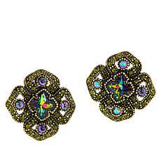 "Heidi Daus ""Regal Renaissance"" Crystal Earrings"